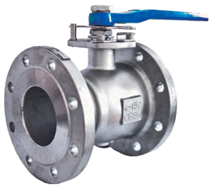 1 Piece 316 Stainless Steel Ball Valve #166R-150