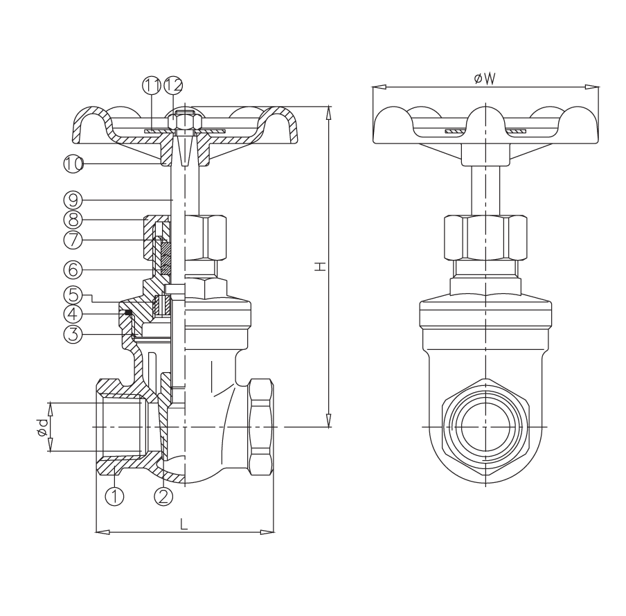 Ohio valve company class 200 stainless steel gate valve ss200gt no description material pooptronica Images