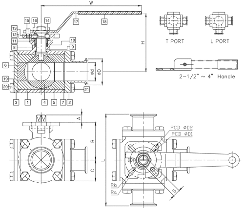 Ohio Valve Company - Sanitary 3 Way 316 Stainless Steel Ball ... on 3-way flow valve, 3-way valve drawing, 3-way plug valve diagram, 3-way globe valve diagram, pump schematic, silencer schematic, 3-way zone valve diagrams, 3-way valve operation, 3-way valve piping, 3-way switch wiring variations, 3-way control valves, 3-way mixing valve diagram, compressor schematic, 3-way diverting valve diagram, 3-way air valve diagram, 3-way valve manual, 3-way valve wiring, 3-way valve symbol, 3-way solenoid valve diagram, pcb schematic,
