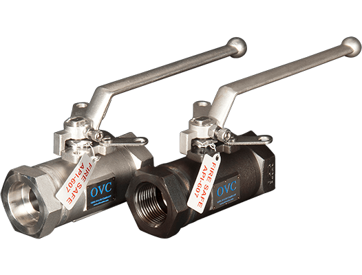 OVC High Pressure Valves