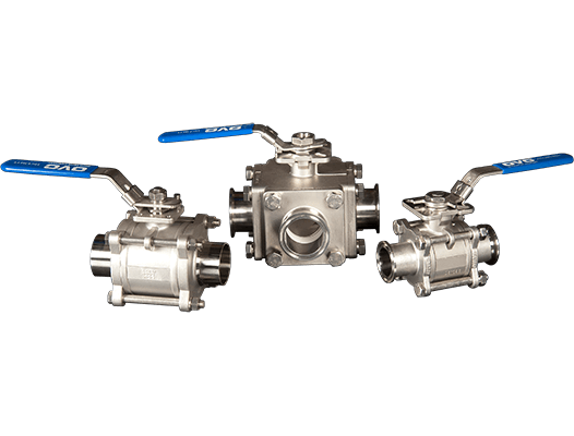 OVC Sanitary Valves