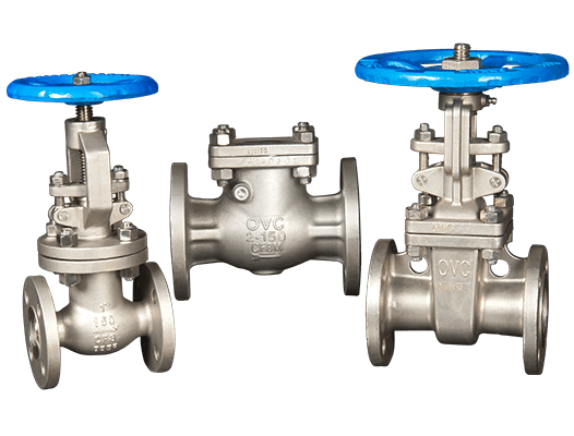 OVC Gate, Globe and Check Valves